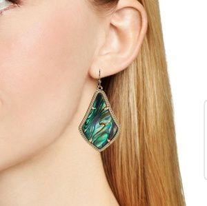 kendra scott alex drop abalone earrings